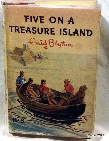 The Famous Five Enid Blyton Five On A Treasure Island The Famous Five is the name of a series of children's novels written by British author Enid Blyton. The first book, Five on a Treasure Island, was published in 1942.