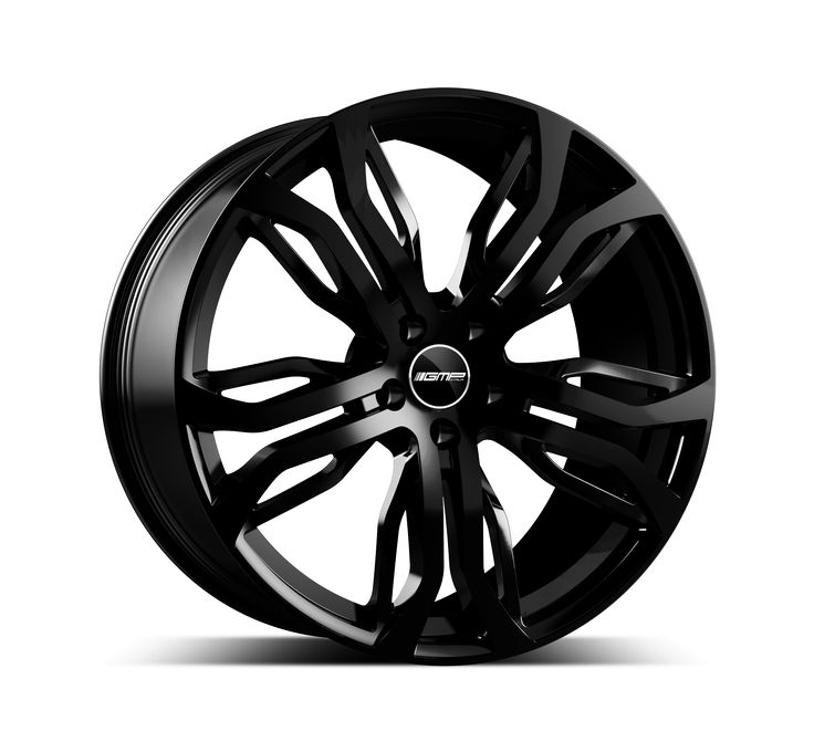 Dynamik Glossy Black Alloy wheel / Cerchio in lega leggera Dynamik Nero lucido Side