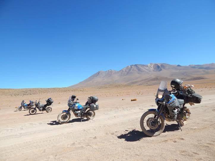 Tadeu Rodrigues de Monte Alegre do Sul SP visitando a Bolivia #adv #yamaha #tenere