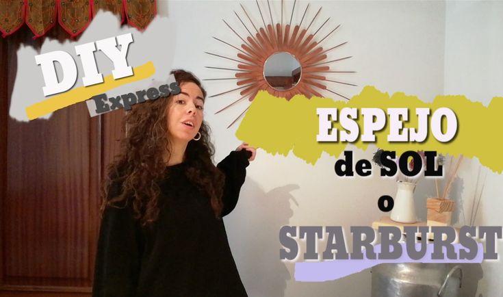 DIY EXPRESS: Aprende cómo hacer un espejo de Sol o Starburst. Por un precio económico puedes hacer tú mismo uno de los elementos de decoración más deseados