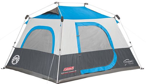 Coleman Instant Cabin #tent #family #camping #cabin You can carry your queen bed and go out with it because it has a spacious room that will accommodate it. Its poles are also pre-assembled so that you get the easiest time when you want to set it up or even install it. It has been built with a vented rainfly so that you get an extra weather protection that is unpredictable out there.