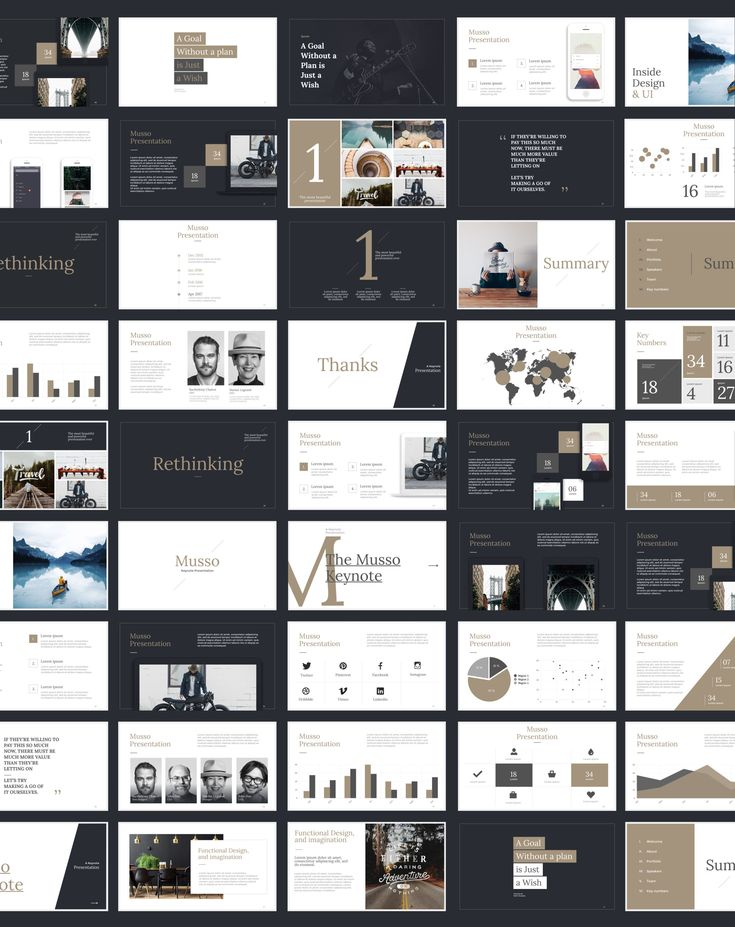 Musso Presentation - Keynote, PowerPoint & Google Slides