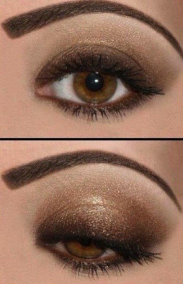 Maquillaje de Noche para ojos marrones , Maquillaje