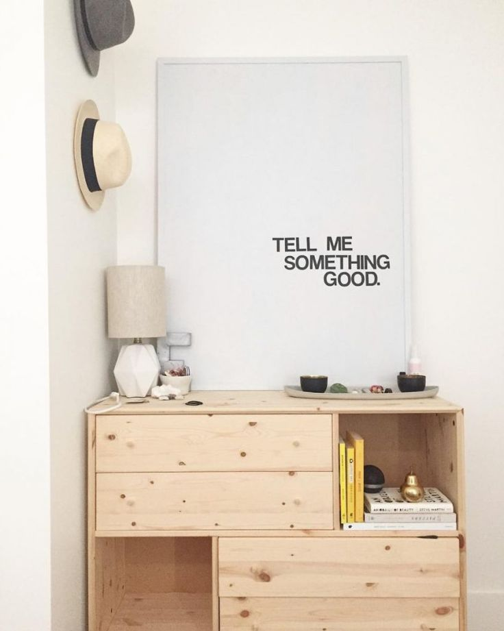 Bigger is better when it comes to blank wall solutions.