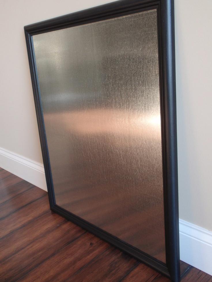 large black framed magnetic magnet bulletin board dry erase board in black frame with twelve jewel magnets