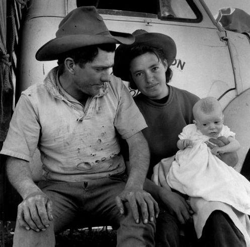Jeff Carter, The drover's wife, Urisino Bore, 1958