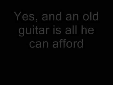 Dire Straits - Sultans of Swing with lyrics.  Mark Knopfler is an awesome guitarist.