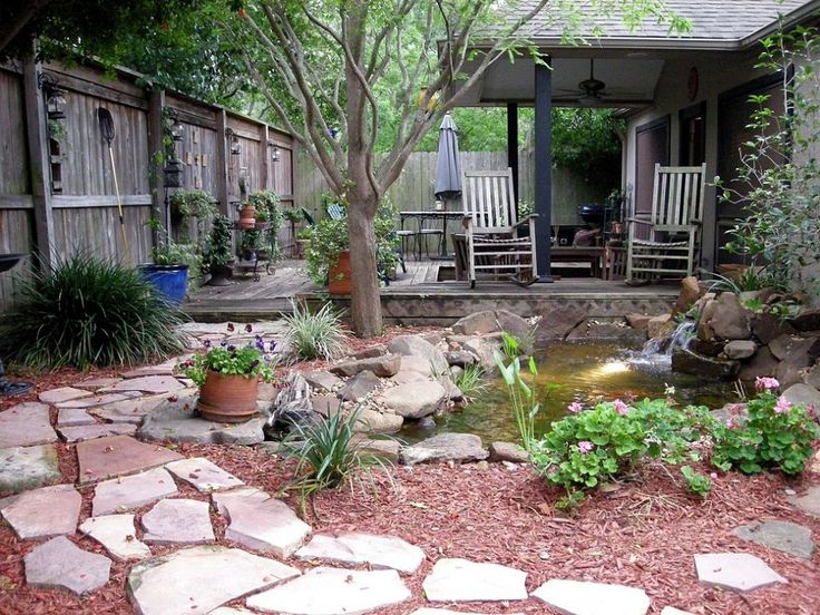 Pond Makeover For Lisa 39 S Small Courtyard Garden In Houston