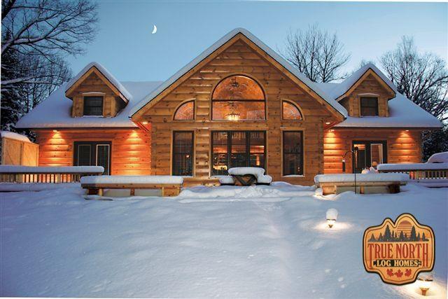 63 best true north log homes ontario canada images for Log home designs ontario