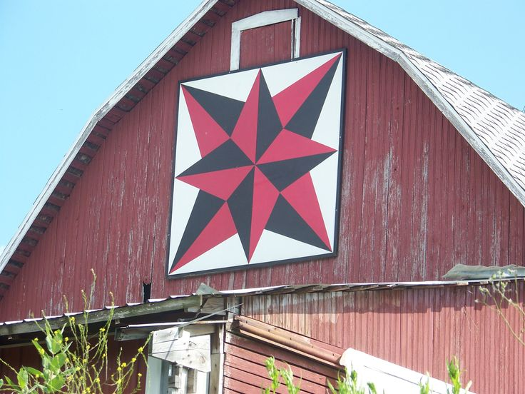 The Barn Quilt Trail in Marshall County, Northern Indiana ...