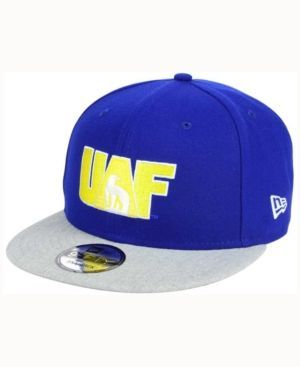 New Era Alaska Fairbanks Nanooks Mb 9FIFTY Snapback Cap - Blue Adjustable