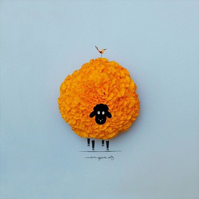 """Orange Is the New Black"" - art by Jesuso Ortiz, via Instagram"
