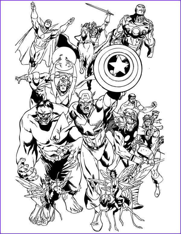 12 Luxury Avengers Coloring Pages Photography In 2020 Avengers Coloring Pages Avengers Coloring Superhero Coloring Pages
