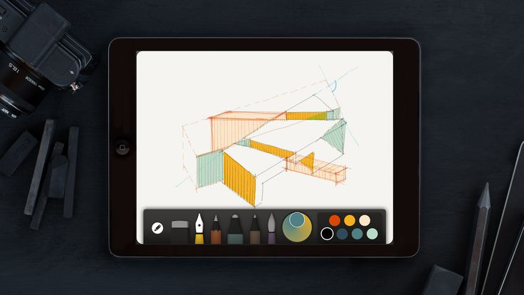 Collaborate on your iPad sketches with this new app from FiftyThree