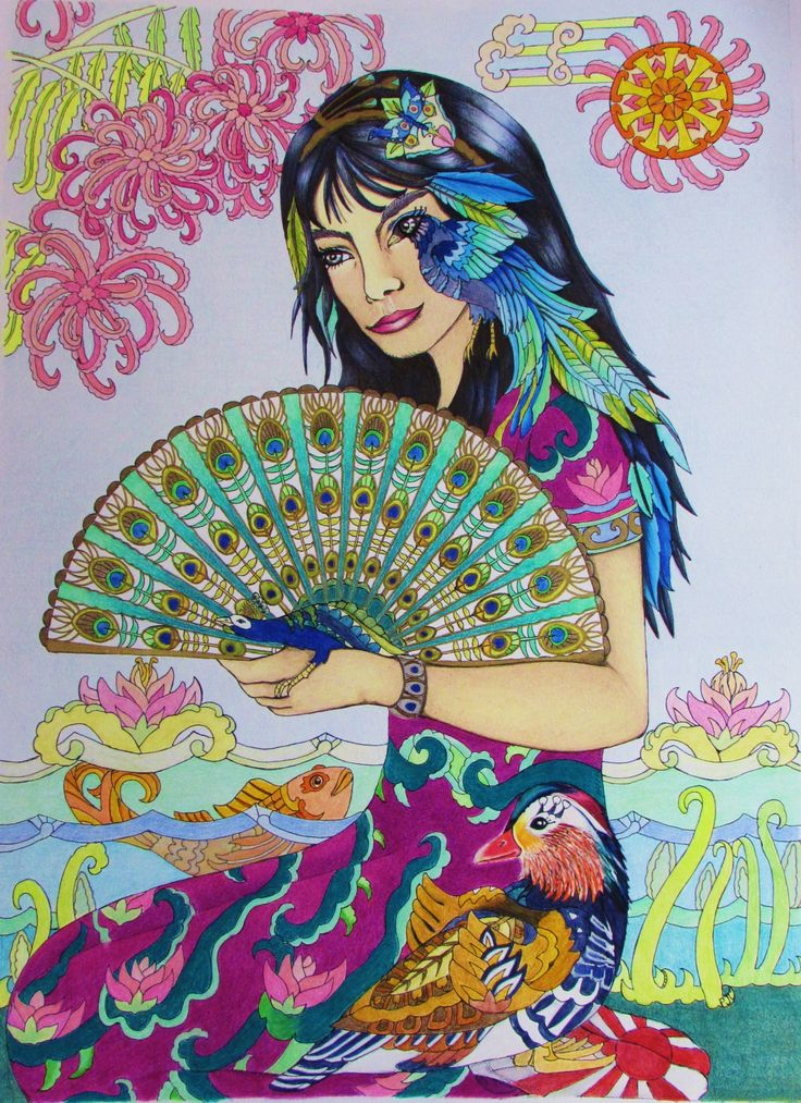 37 best Color me your way images on Pinterest Coloring books