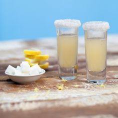 Lemon Drop Shot | MyRecipes.com. In memory of some wild and crazy times back in the day.
