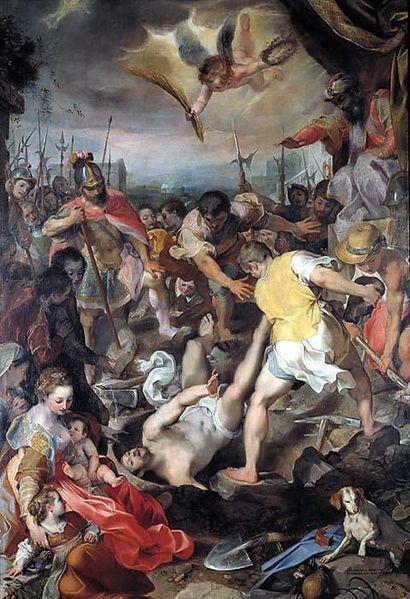 Martiri de San Vidal de Federico Barocci. Pinacoteca de Brera, Milán.