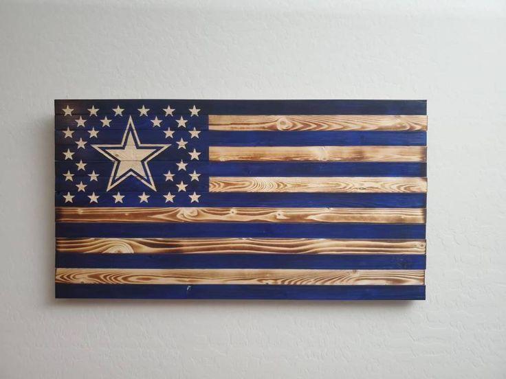 Dallas cowboys wooden flag etsy in 2020 wooden flag