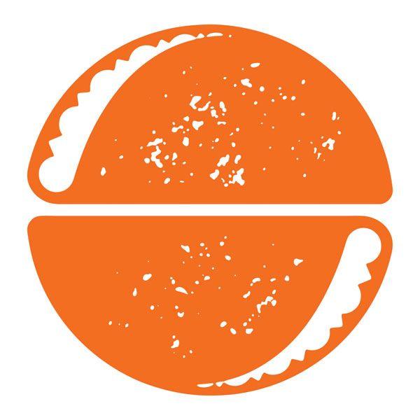 The Taco Spot logo by J Fletcher Design (Charleston, SC): Jay Fletcher (creative director/art director/designer); jfletcherdesign.com #imprint