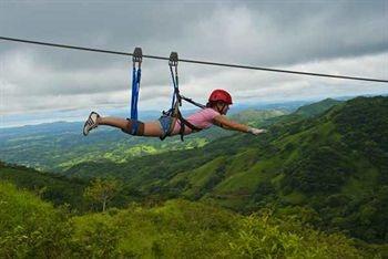 Zipping in Costa Rica