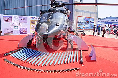 HAL Rudra, The Weaponised Version Of A ALH, With Her Weaponry.