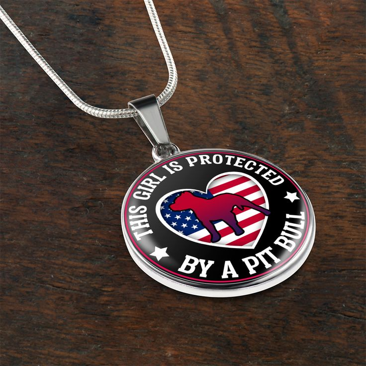 Pit Bull Protection Necklace