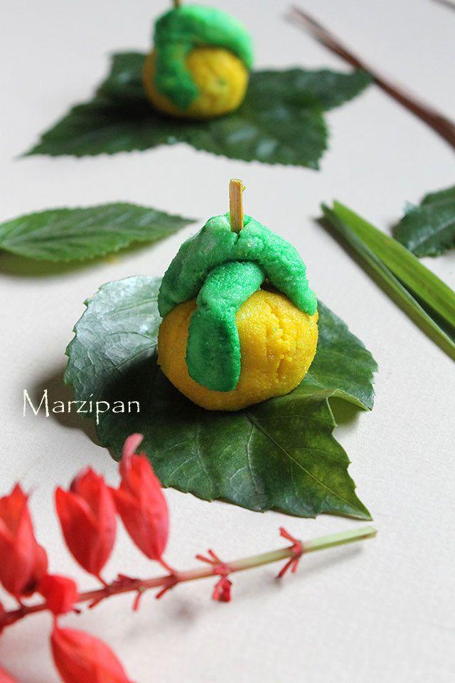 Marzipan Christmas Sweets Recipe, How to make Marzipan Sweet Recipe