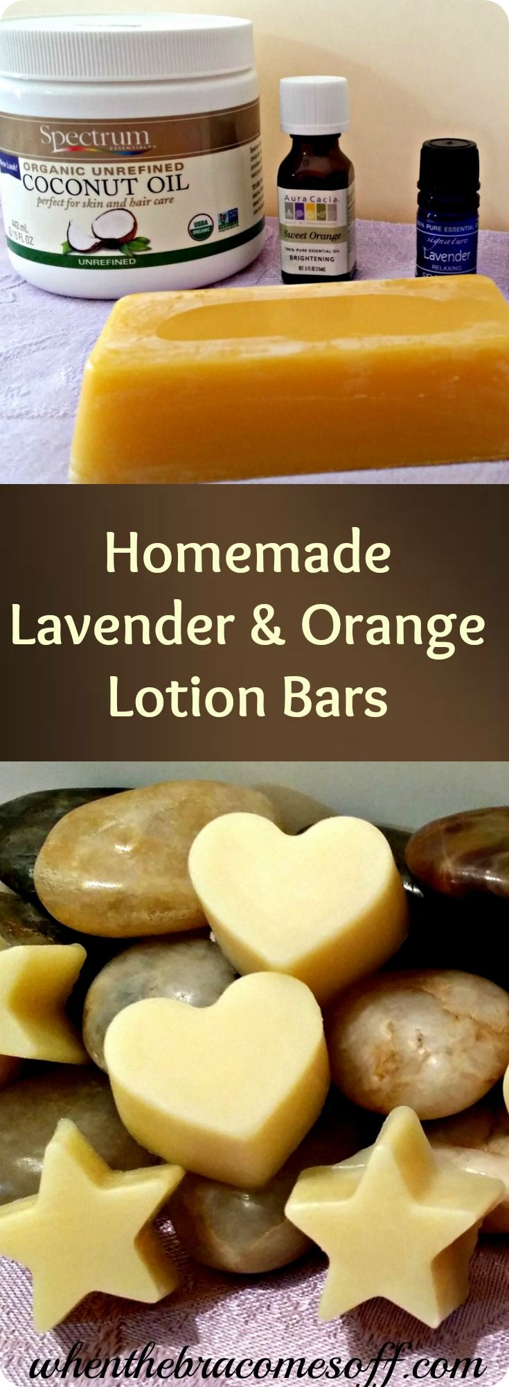 Homemade Lavender & Orange DIY Lotion Bars - Natural Beauty Living