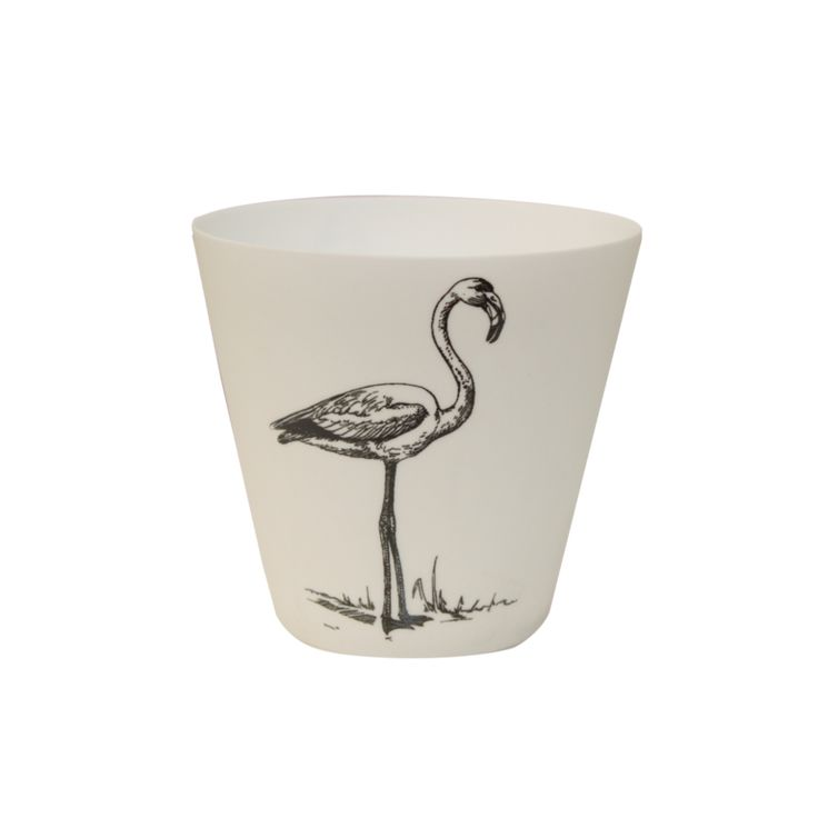 FLAMINGO Tealight | Porcelain