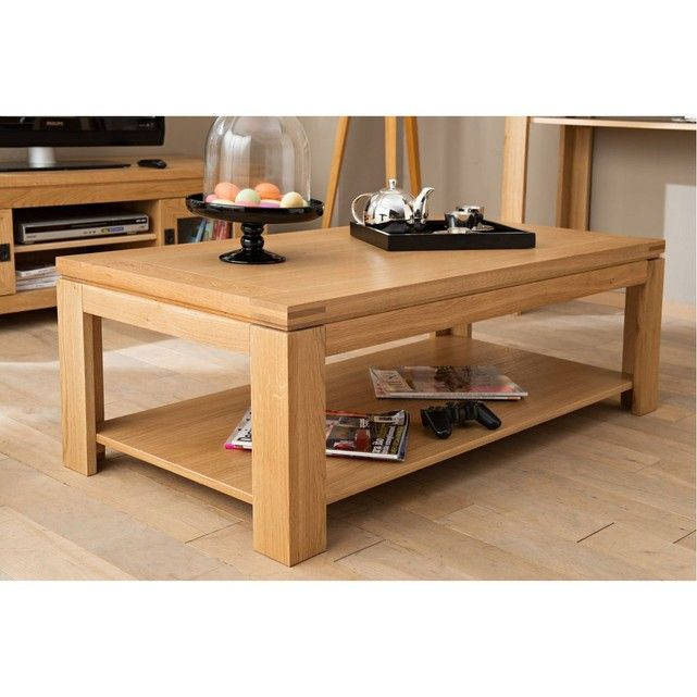 Table Basse Moderne Boston Bois Chene Clair Massif Chene Clair Hellin Depuis 1862 La Redoute Table Basse Moderne Table Basse Table Basse Contemporaine
