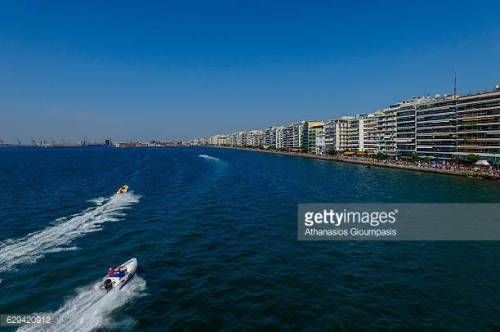 07-01 THESSALONIKI, GREECE - SEPTEMBER 25 : Aerial view…... #paralia: 07-01 THESSALONIKI, GREECE - SEPTEMBER 25 : Aerial view…… #paralia