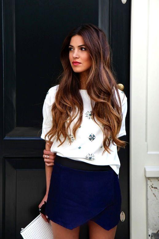 Peinados con pelo largo !