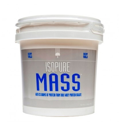 A state-of-the-art formula loaded with 53 grams of 100% ion exchange whey protein isolate for muscle growth.