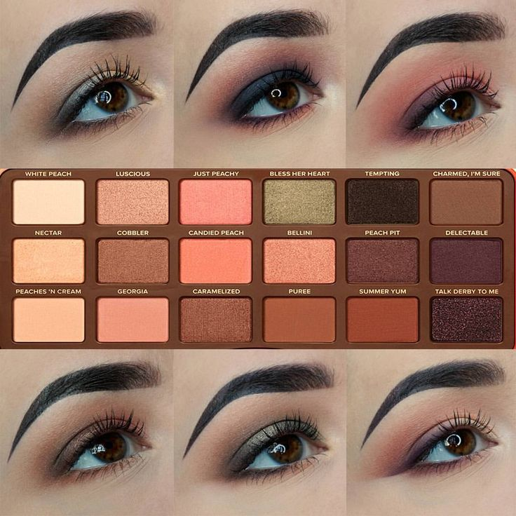 Two Faced Natural Matte Palette Tutorial