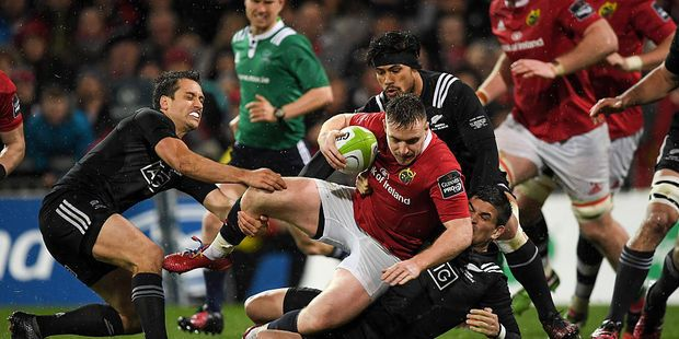 Live updates: Maori All Blacks v Munster