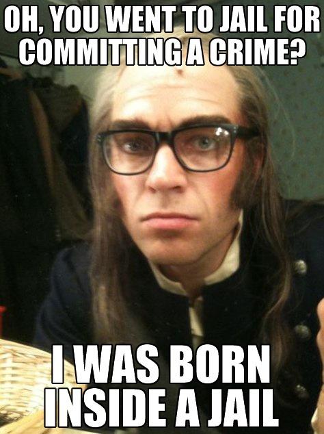 Hadley Fraser Hipster Javert Funny Pinterest The O