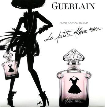 La petite Robe noire, Guerlain. Version 2012 d'un parfums sorti 3 ans plus tôt