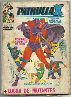 Tebeos, comics y otros sucedaneos en mis estanterias: La Patrulla X Tomo Vertice #25