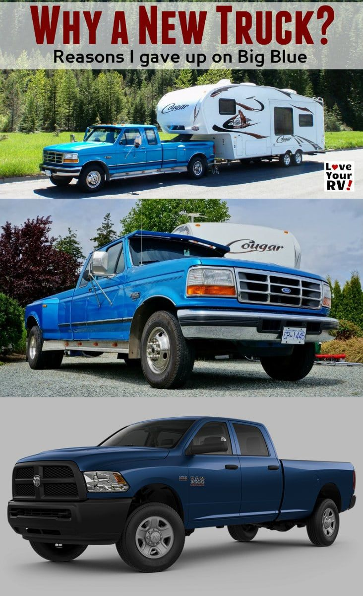 Why We Are Buying A New Truck Versus Fixing Big Blue With Images