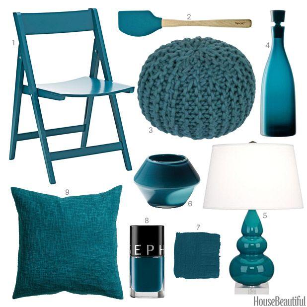 Pea Blue Color Scheme Home Safe