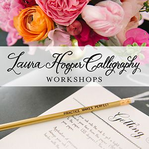 Laura Hooper Calligraphy Workshop Alexandria Va Local