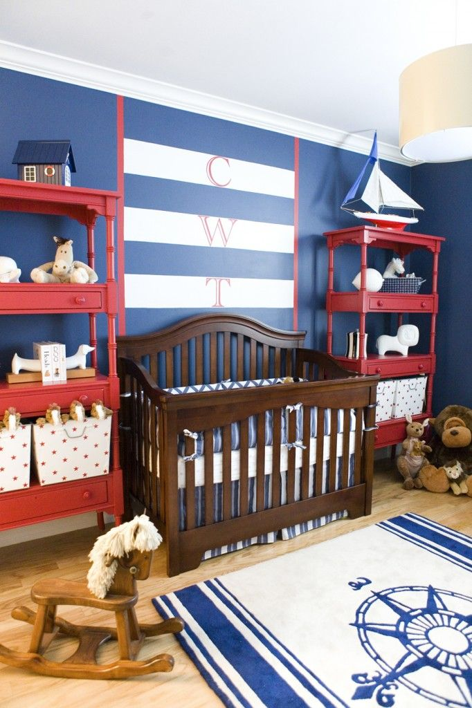 Nautical Nursery if I ever have a little boy