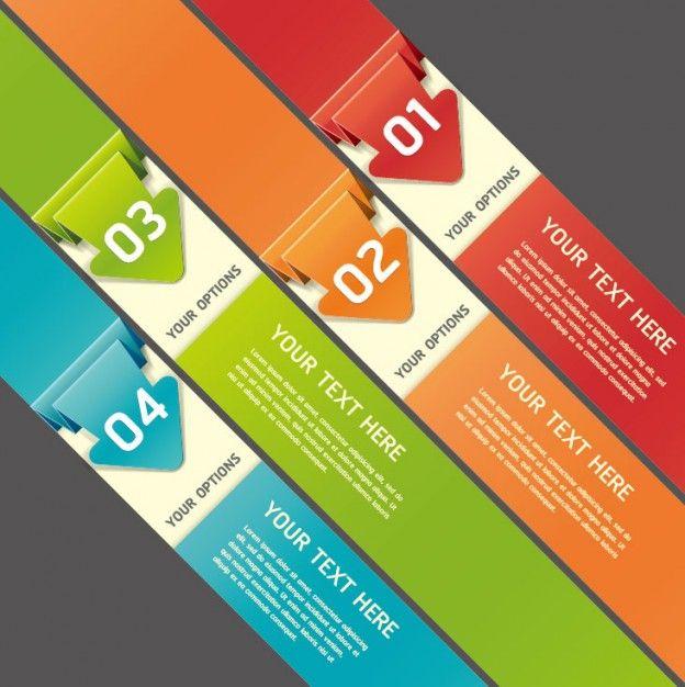 Colorful Origami feuilles Vecteur misc | Télécharger Free Vector