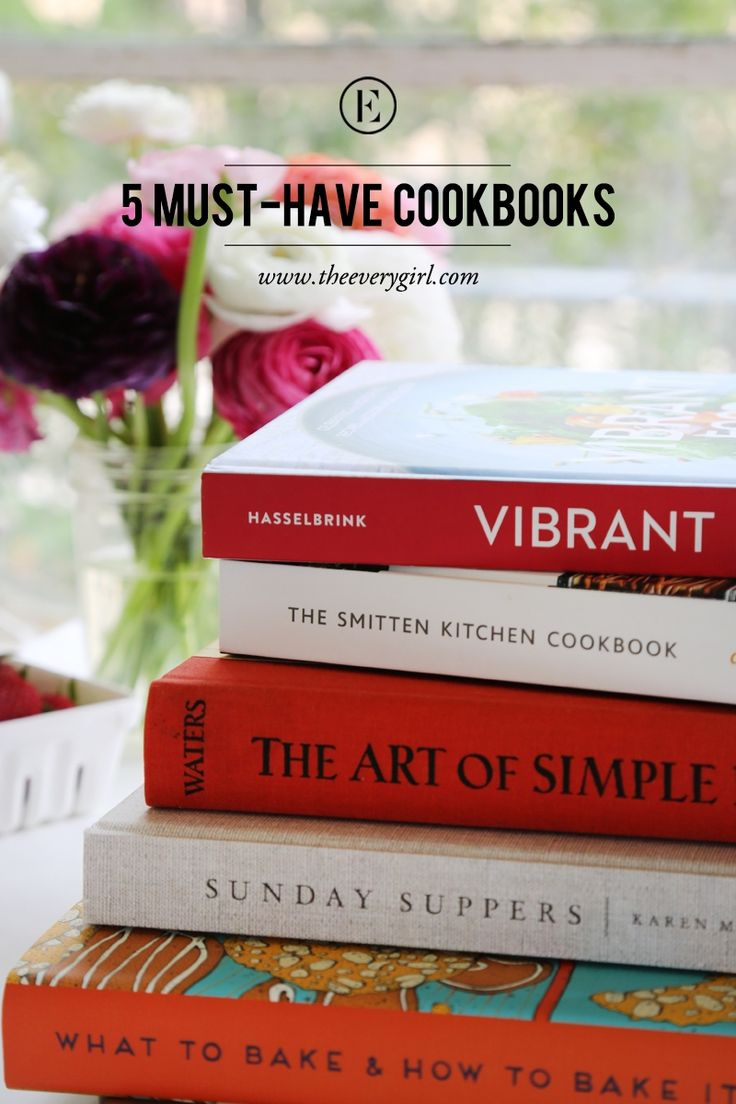 5 Musthave Cookbooks #theeverygirl