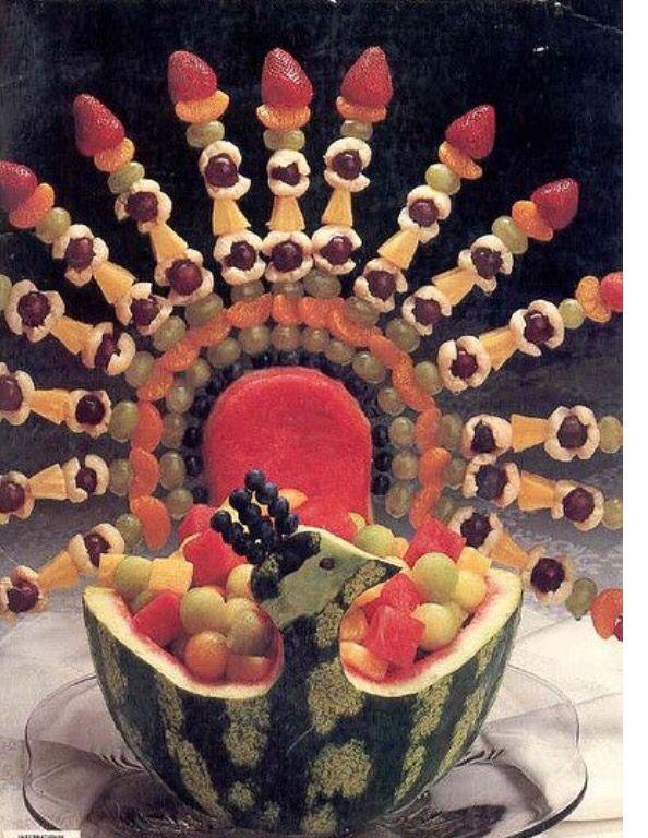 Turkey fruit salad
