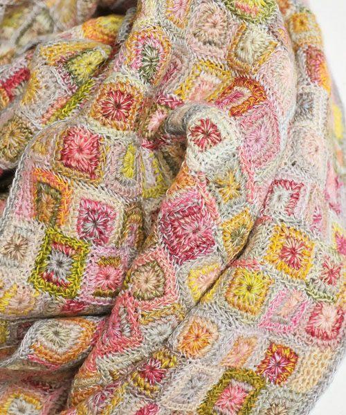 LUVRI | Rakuten Global Market: Sophie digard Sophie day girl CARTEL MERINO WOOL SCARF