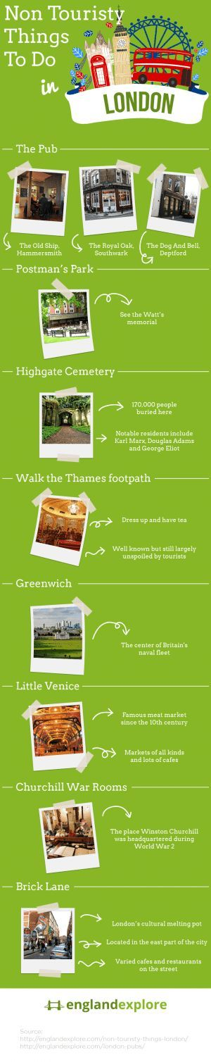 Some great off the beaten track things to do in London.