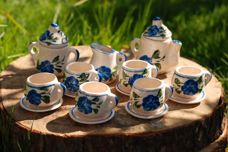 Mexican Talavera Mini Tea Set