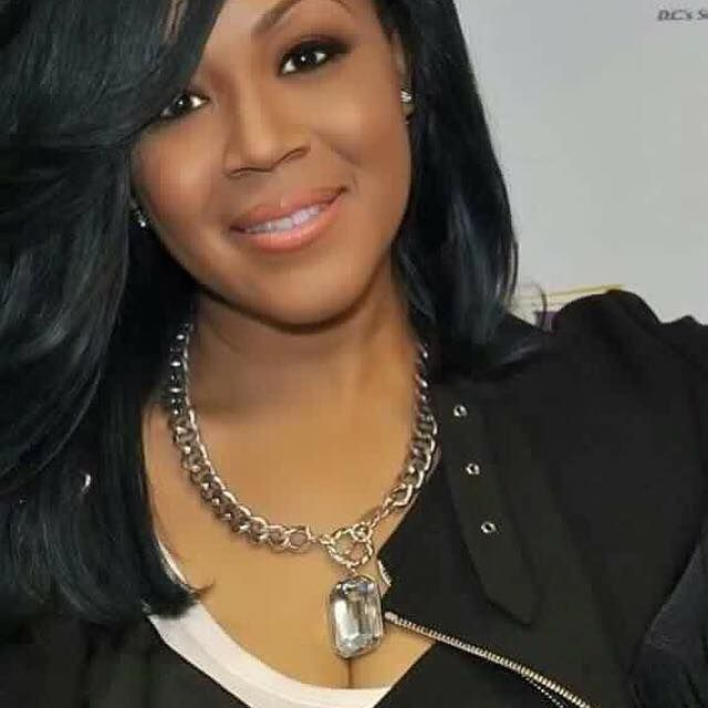 Look who loves to wear Traci Lynn Jewelry, beautiful Erica  Campbell. Expose Necklace available in three different colors.