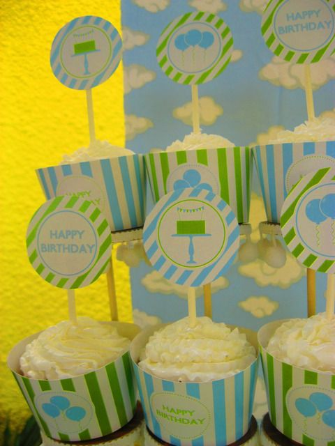 Free birthday boy printables from Catch My Party